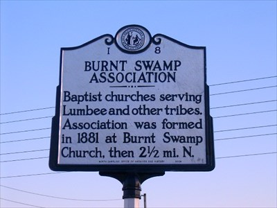 Burnt Swamp Association Historical Marker
