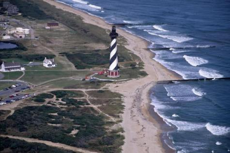 Cape Hatteras Lighthouse in 1991