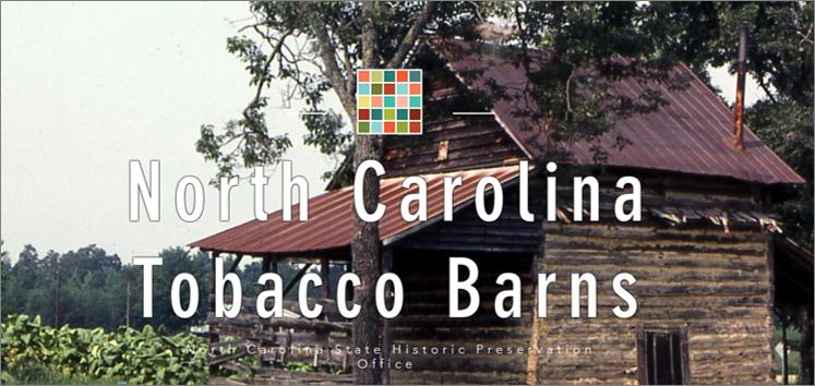 North Carolina Tobacco Barns story map