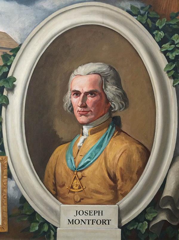 Joseph Montford Freemason Portrait