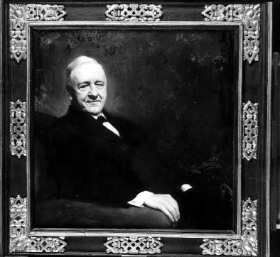 Josephus Daniels Portrait on on display at the North Carolina Museum of History