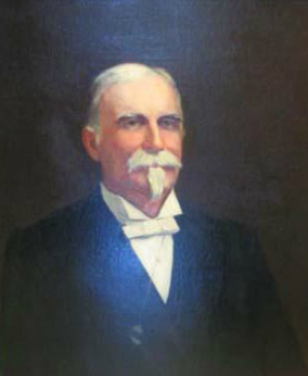 A portrait of James T. Morehead held by the N.C. Museum of History
