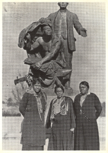 Nannie Helen Burroughs, Charlotte Hawkins Brown, and Mary McLeod Bethune