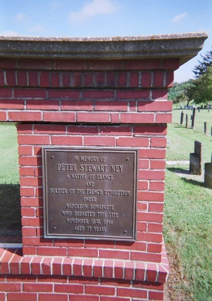 Ney's Tomb in Cleveland, N.C.