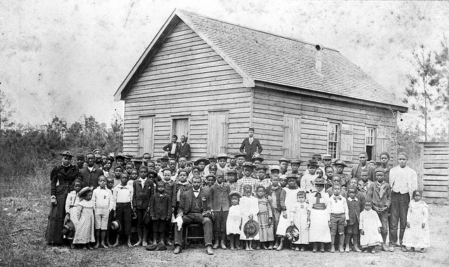 One Room School House in Columbus County, North Carolina