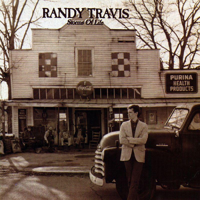 Randy Travis album cover