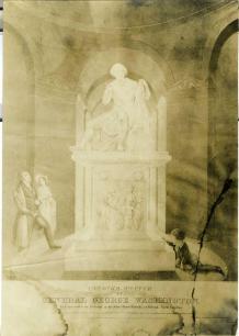 Rotunda Statue Drawing circa 1890-1920