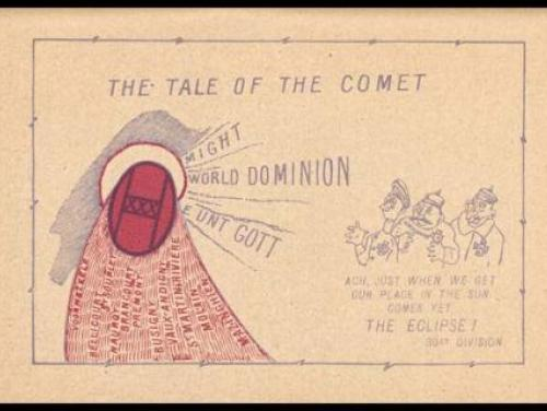 "The ""Tale of the Comet"" sketch"