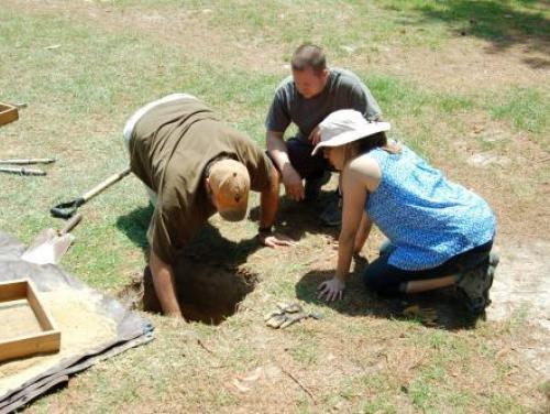 Archaeological Field Work at Bentonville Battlefield