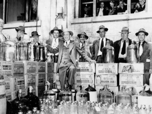 A 1951 moonshine bust in Johnson County