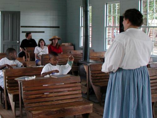 Teaching School at Aycock Birthplace