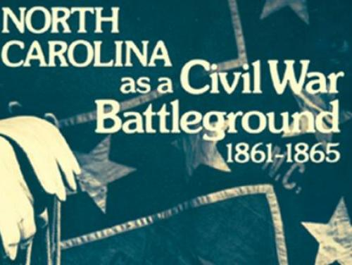 The Cover of North Carolina as a Civil War Battleground