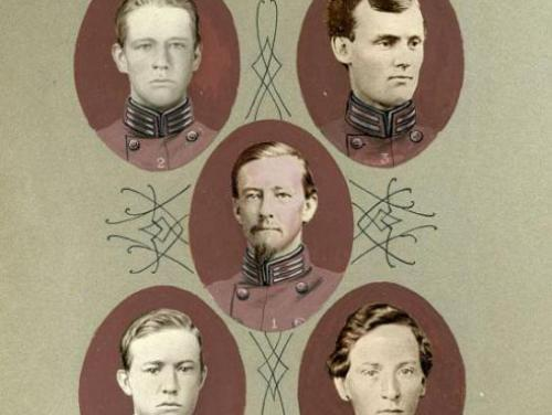 Confederate Officers from North Carolina during the Civil War