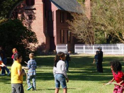 Colonial Games and Family Fun at Historic Bath
