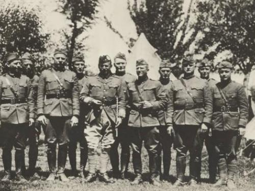 The 119th Infantry, Thirtieth Division during World War I in Belgium