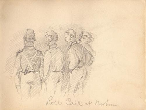 A Sketch of New Bern Soldiers During the Civil War