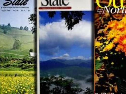 Archived issues of Our State Magazine