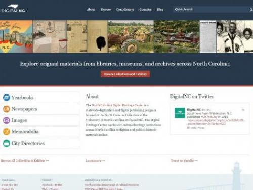 A Screenshot of Digital NC
