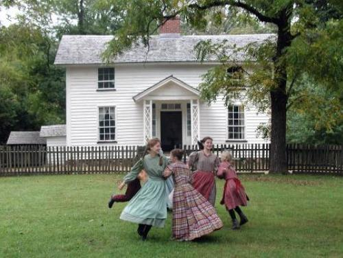 Dancing at Duke Homestead