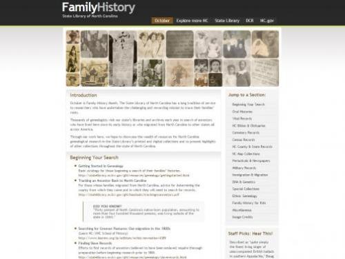 An Index of Genealogy Resources from the State Library