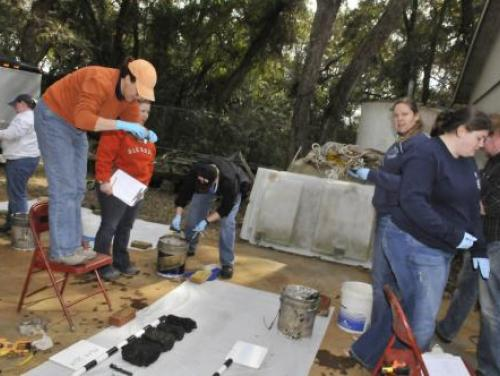 Archaeologists Conserve Modern Greece Artifacts at Fort Fisher