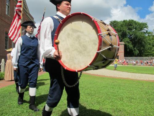 Marching to the Beat of a Drum at Tryon Palace