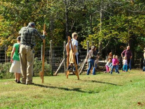 1900s Games at Horne Creek Farm