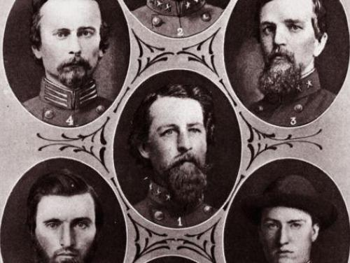 Officers of the 39th Regiment During the Civil War