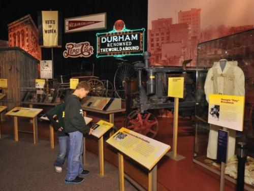 The Story of North Carolina Exhibit at the N.C. Museum of History in Raleigh