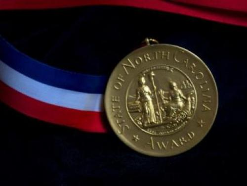 The North Carolina Award medal