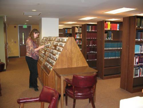 Browsing the materials available at the North Carolina Government and Heritage Library