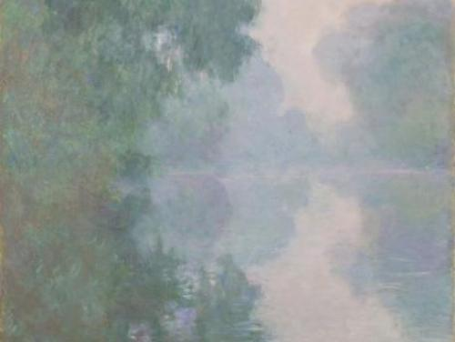 """The Seine at Giverny, Morning Mists"" by Claude Monet (1897)"