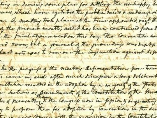 A Civil War Era Letter