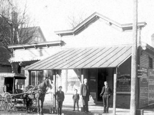 A Raleigh Grocery Store in 1904