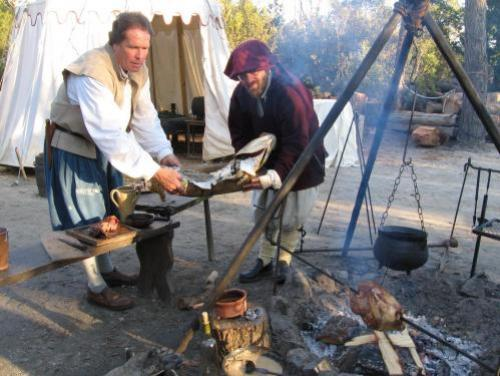 Historical Cooks Bings the Past Alive at Roanoke Island Festival Park in Manteo