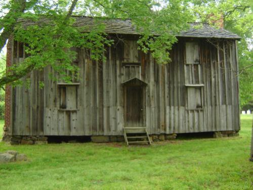 Horton Grove Slave Cabins at Stagville Plantation