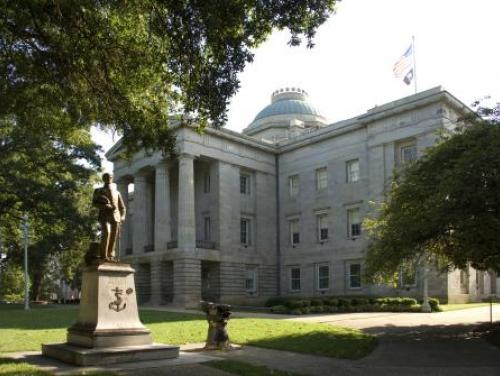 The Greek Revival North Carolina State Capitol