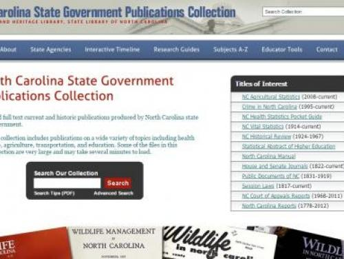 The State Publications Digital Collection