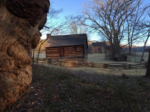 Civil War Cabins at Vance Birthplace