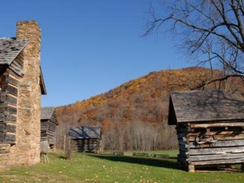 Vance Birthplace in the Fall