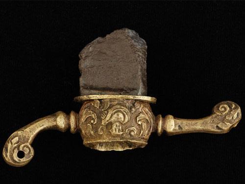 Sword Guard Artifact from Blackbeard's Vessel