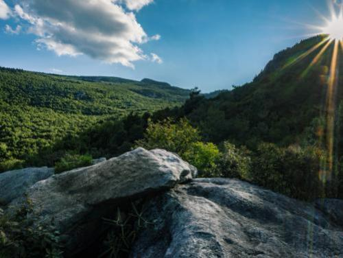 Storyteller Rock at Grandfather Mountain State Park