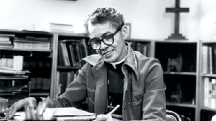 An image of Pauli Murray from the North Carolina Collection at UNC-Chapel Hill