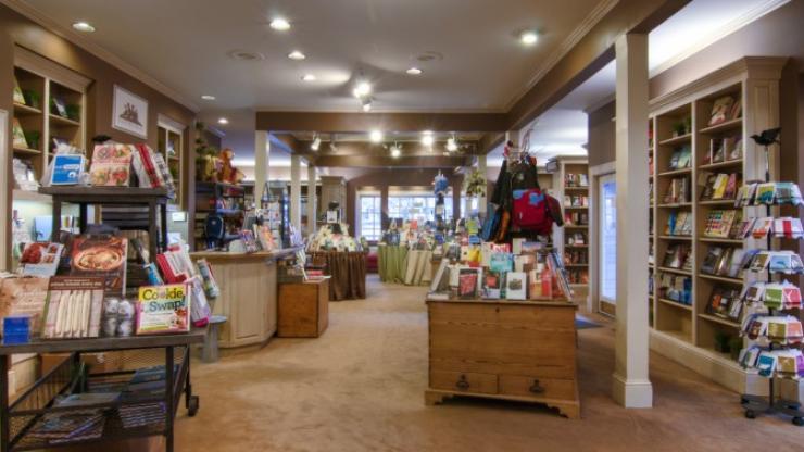 Inside McIntyre's Books in Pittsboro