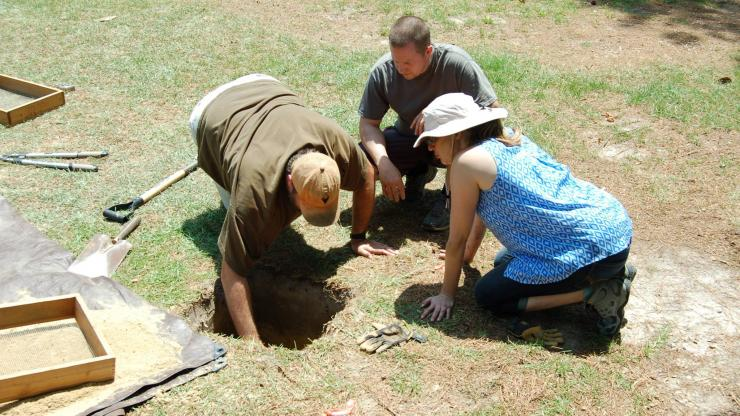 Archaeological Field Work at Bentonville Battlefield
