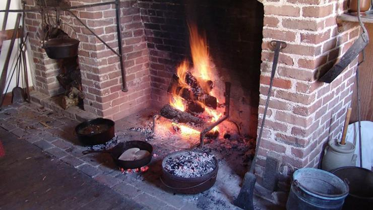Learn about open hearth cooking Oct. 13 at Historic Bath.