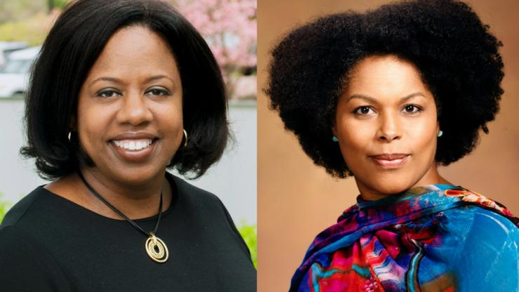 Tracey Burns and Michelle Lanier