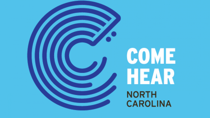 Come Hear NC logo