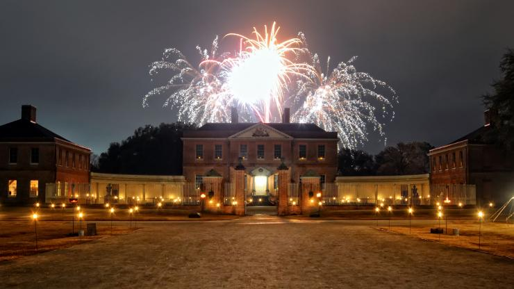 Christmas Candlelight Celebration Tryon Palace