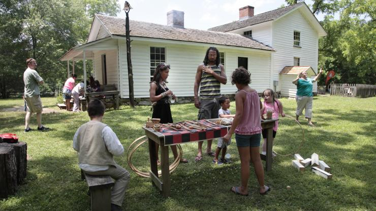 Duke Homestead historic games